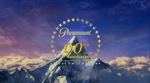 Paramount 90th Anniversary 2002 logo
