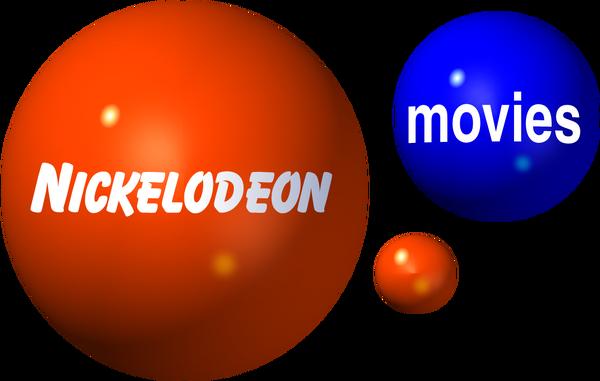 NICKELODEON MOVIES 2000 3D LOGO