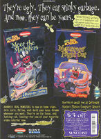 Aaahh Real Monsters VHS print ad Nick Mag Nov 1995