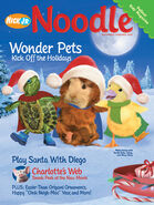 Nick Jr Magazine Noodle cover Dec Jan 2007