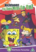 Nicktoons The Show Must Go On DVD
