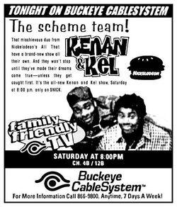 1997 Buckeye CableSystem Kenan & Kel ad