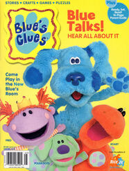 Blues Clues Nick Jr Special Magazine Spring 2004