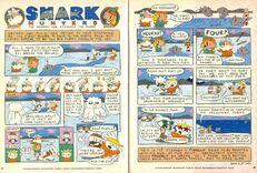 Grampa Julie Shark Hunters NickMag comic Dec Jan 2003