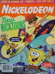 Nickelodeon Magazine cover September 1999 Rocket Power