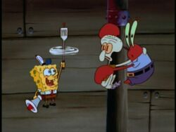 SpongeBobWithHydrodynamicSpatula