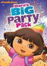 Dora the Explorer Dora's Big Party Pack DVD