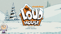 The Loud House Christmas Logo