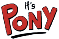 It's Pony - Logo