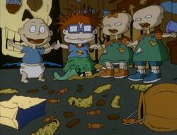 Rugrats Candy Bar Creep Show