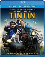 The Adventures of Tintin Blu Ray