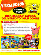 Nickelodeon Comics Club print ad Nick Mag Presents June 2009