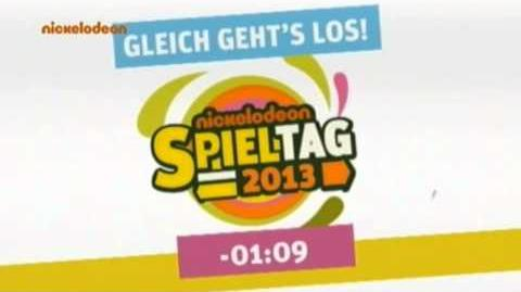 Nickelodeon Spieltag 2013 Ende (Countdown)