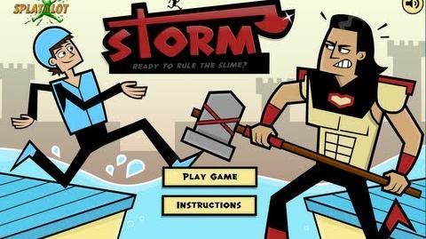 Splatalot Storm walk-through