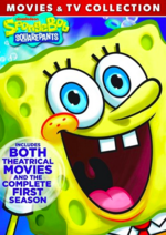 SpongeBob SquarePants-Movies & TV Collection DVD