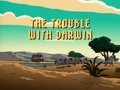 The Trouble with Darwin title