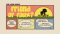 Friend or Faux? Title card
