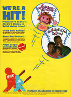 Nick Jr. Allegra's Window and Gullah Gullah Island Trade Print Ad