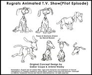 Rugrats Pilot spike model sheet