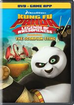 Kung Fu Panda - Legends Of Awesomeness - The Scorpion Sting 2013 DVD Cover