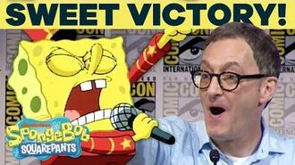 SpongeBob Panel Performs 'Sweet Victory' at Comic-Con TuesdayTunes