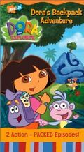 Dora the Explorer Dora's Backpack Adventure VHS