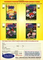 Rugrats Comic Adventures posters print ad NickMag March 1999