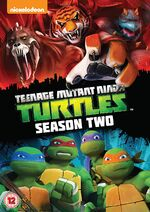 TMNT Season 2 UK DVD
