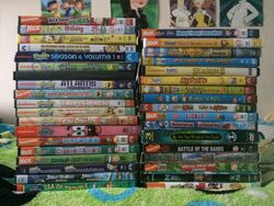 Geoff109 Nickelodeon DVDs 2