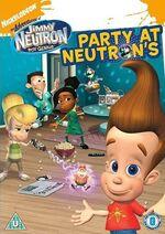 Jimmy Neutron DVD = Party At Neutrons