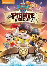 Paw Patrol The Great Pirate Rescue! DVD