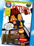 Return of Stick Stickly print ad NickMag Sept 1996