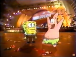 SpongeBob and Patrick at the 2000 KCA's