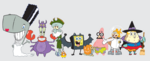 SpongeBob cast in Halloween costumes