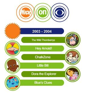 Nick on CBS 2003-2004