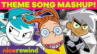Theme Song Mashup of Your Childhood in 5 Minutes! 🎵 NickRewind