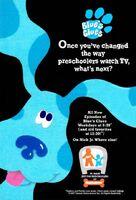 Blue's Clues Print Advertisement4