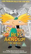 Hey Arnold! The Movie VHS UK-Europe 2003