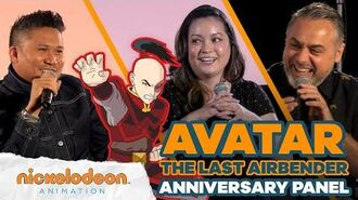 Avatar The Last Airbender 🌊 🌎 🔥 💨 15th Anniversary Panel Discussion