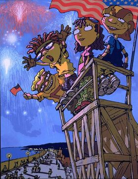 Rocket Power 4th of July