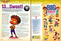 Cree Summer interview Rugrats All Grown Up Ooze News Nick Mag Dec Jan 2004