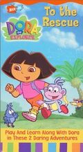 Dora the Explorer To the Rescue VHS