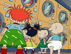 Rugrats Wash Dry Story