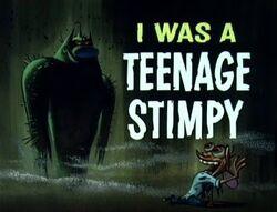 I Was a Teenage Stimpy Title Card