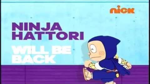 Nickelodeon India - Ninja Hattori show bumpers