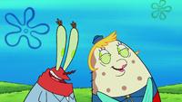 SpongeBob SquarePants Mrs. Puff and Mr. Krabs