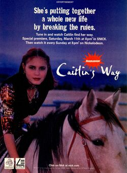 Caitlins Way print ad NickMag March 2000