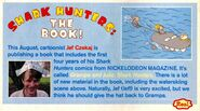 Grampa Julie Shark Hunters book blurb Nick Mag aug 2004