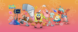 SpongeBob SquarePants Characters Cast Nickelodeon Promo Image