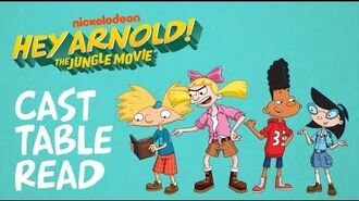 The Jungle Movie Cast Table Read Hey Arnold! Nick Animation